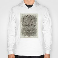 chakra Hoodies featuring Second Chakra by Work the Angle