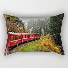 Full Speed Ahead Rectangular Pillow