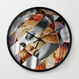 """Botticelli's """"Madonna of the Magnificat"""" & Grace Kelly Wall Clock"""
