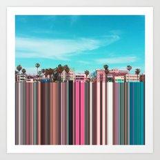 Venice, CA Art Print