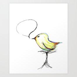 pajarito Art Print
