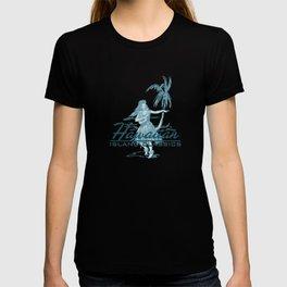 Hawaiian Surf Shack and Hula Girl Designs T-shirt