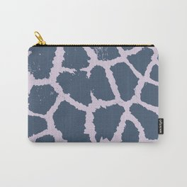 Giraffe Pattern - 2 colors Faded Purple & Pink Carry-All Pouch