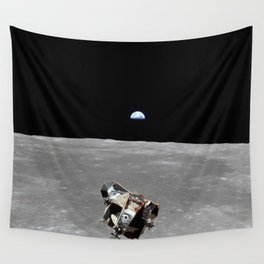Nasa Picture 2: Apollo 11 the lunar module Wall Tapestry