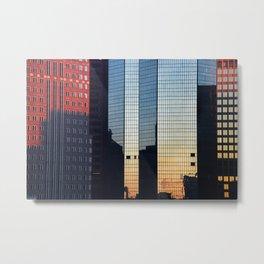 Sunset reflected III. Metal Print