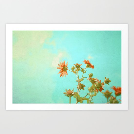 Feelin Groovy Art Print