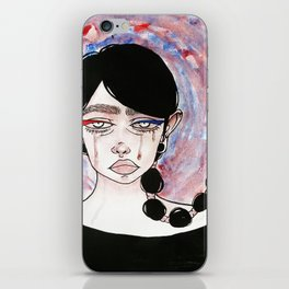 Wipe away your tear stains. iPhone Skin