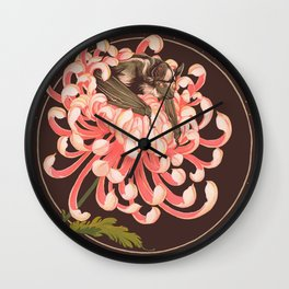 Mictecacihuatl Wall Clock