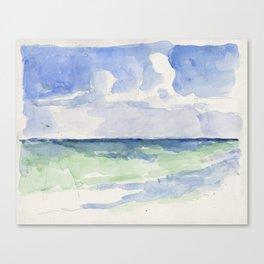 Ocean, Tulum, Mexico Canvas Print