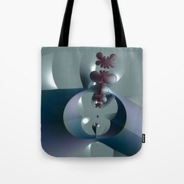 Life sprouting in the silence of an abstract fantasy Tote Bag