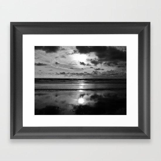 Dooey Strand Framed Art Print