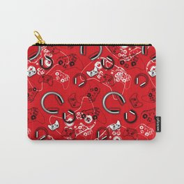 Gamers-Red Carry-All Pouch