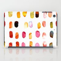 aelwen iPad Cases featuring strokes of colors by clemm