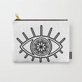 Mandala Evil Eye Carry-All Pouch