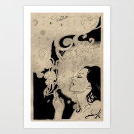 Claudia Art Print