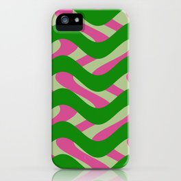 Abstract 3 HZ iPhone Case