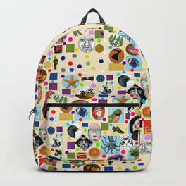 It's Mad, Mad, Mad, Mad World (Beige) Backpack