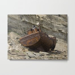Sarb J - on the rocks Metal Print