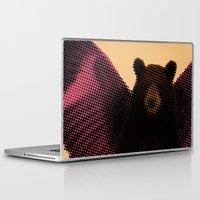 beard Laptop & iPad Skins featuring Beard by Triplea