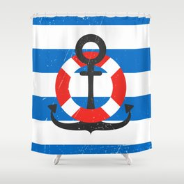 Back to the sea! Shower Curtain