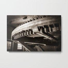 Inside a mill (Bourtange The Netherlands, Groningen) Metal Print