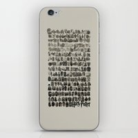 hogwarts iPhone & iPod Skins featuring HOGWARTS QUOTES by September 9