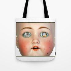 Mad-Eyed Mentalembellisher Victorian Porcelain Doll Tote Bag