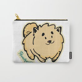 Pomeranian dog Carry-All Pouch