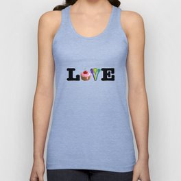 Love Baking Unisex Tank Top