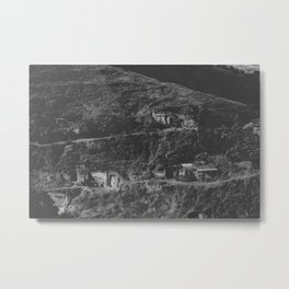 Hippies in the Hills Metal Print