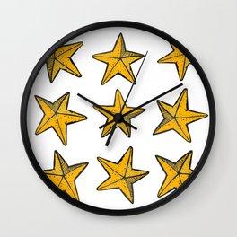 Sea-life Collection - Starfish Wall Clock
