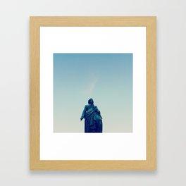 Mozart statue in Salzburg, Austria Framed Art Print