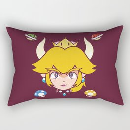 Queen Koopa Rectangular Pillow