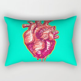 Love Colorful Rectangular Pillow