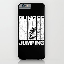 Bungee Jumping With Jumper iPhone Case