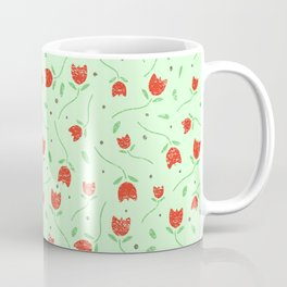 Chalk Floral Pattern  Coffee Mug