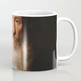 Rembrandt - Old man with beard and beret wearing a medaillon Coffee Mug
