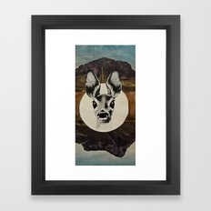 Desert Eyes Framed Art Print