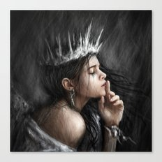 Queen of Secrets Canvas Print