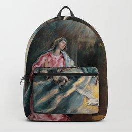 el greco Annunciation Backpack
