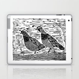 Pair of Quail Laptop & iPad Skin