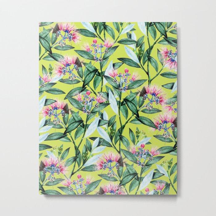 Floral Cure #society6 #decor #buyart Metal Print