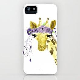 Boho Giraffe iPhone Case