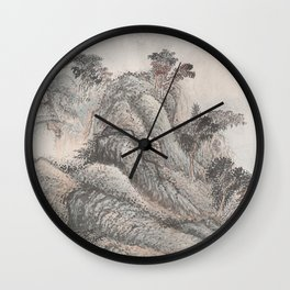 Outing to Zhang Gong's Grotto Wall Clock