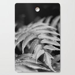 Deep In - leaves & fern Cutting Board