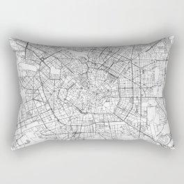 Milan Map Line Rectangular Pillow