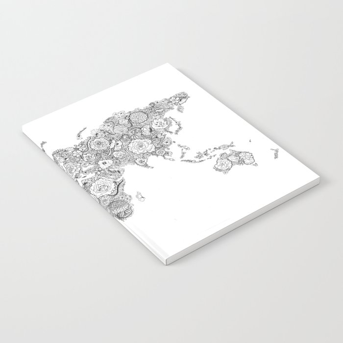 Worldmap notebook by ellewills society6 worldmap notebook gumiabroncs