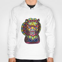 hippo Hoodies featuring Hippo. by Farkas