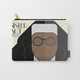 Sister Act, minimal Movie Poster, classic comedy film, funny, Whoopi Golberg, american cinema Carry-All Pouch