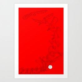 Tu independencia Art Print